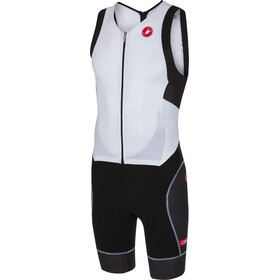 Castelli Free Sanremo Sleeveless Suit Men white/black